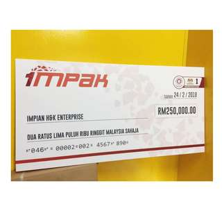 Mock-Up Cheque Printing Service
