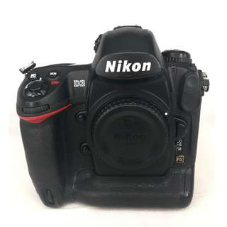 Nikon D3 (12.1MP) FullFrame Pro DSLR Body (Used) [SN: ***3649]