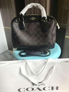 Original coach Bennett bag handbag authentic satchel bag