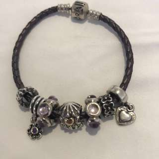 Pandora Bracelet+Charms