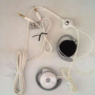 HP earphones + Mic