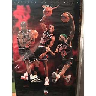 🚚 NBA 公牛海報1996年