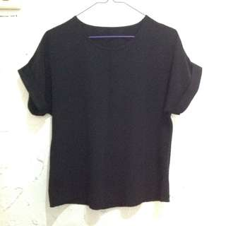Black Blouse Fit to M