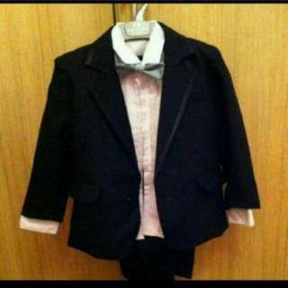BNWT Boy Tux Suit for rent