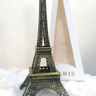 Pajangan Vintage Eiffel Tower 13cm