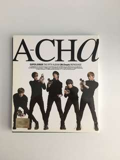 Super Junior Album A-CHA