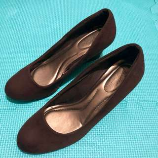 PAYLESS Brown Suede Shoes