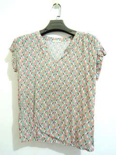 Promod Graphic Blouse