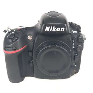 Nikon D800 (36.3MP) FullFrame Pro DSLR Body (Used) [SN:***0713]