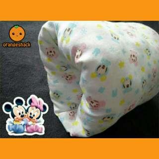 Nursing Arm Pillow Breastfeeding Essential Reversible Slip On Baby Mickey Minnie
