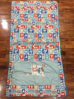 Baby Animal Print Crib Comforter Blanket