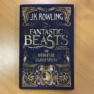 Original Screenplay: Fantastic Beasts and Where to Find Them