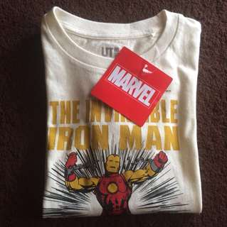 Uniqlo Marvel Shirt Size 3-4tahun