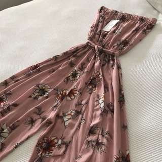 Jumpsuit New With Tags Size L Fits 10-14