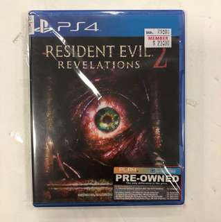 PS4 PREOWNED RESIDENT EVIL 2
