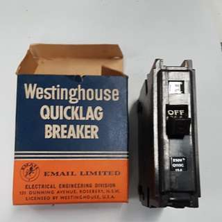Westinghouse quicklag breaker