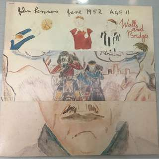 John Lennon ‎– Walls And Bridges, Vinyl LP, Apple Records ‎– SW-3416, 1974, USA
