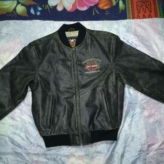 Harley Davidson Leather Motorcycle Jacket Vintage