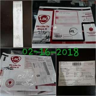 Proof of Shipping / Salamat sa tiwala👌