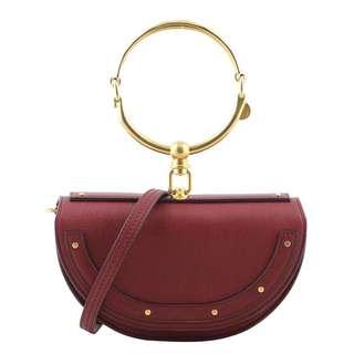 Authentic Chloe Nile Minaudière Bracelet Bag