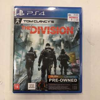PS4 PREOWNED TOM CLANCY'S THE DIVISION