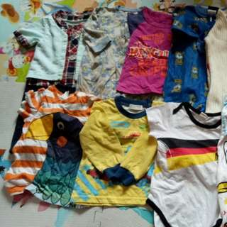 Baby clothes 0~6m for 30pieces