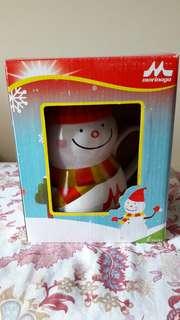 MUG Snowman/Boneka Salju cantik Morinaga
