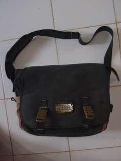 DIESEL denim tas selempang,sling bag