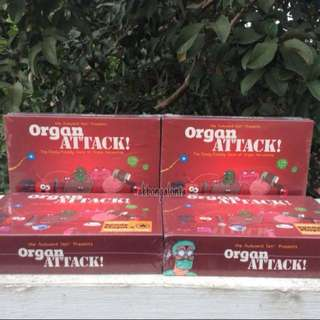 Organ Attack Card Game