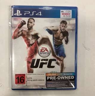 PS4 PREOWNED UFC