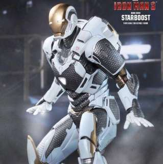 Hot toys Iron man starboost