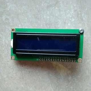 LCD 16x2 (udah dipasang I2C)