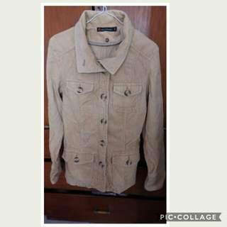 Brown curduroy jacket