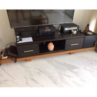 long TV shelf