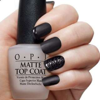 BN opi matte top coat