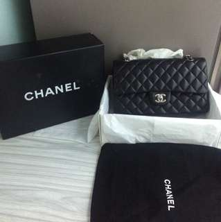 Chanel classic medium 25cm flap bag
