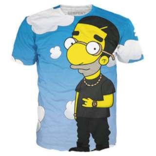 Drizzy Drake Milhouse T-Shirt Size L