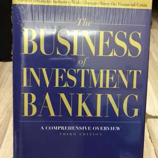 30% OFF - The Business of Investment Banking