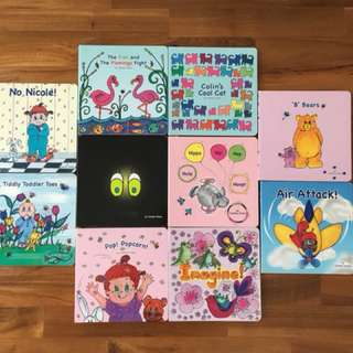 BRMCK N1 phonics books by Carolyn Grace