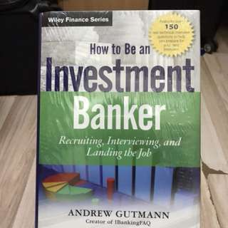 30% OFF - How to be an Investment Banker