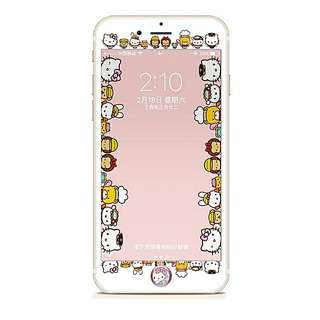Hello Kitty and her friend screen protector(mon貼)