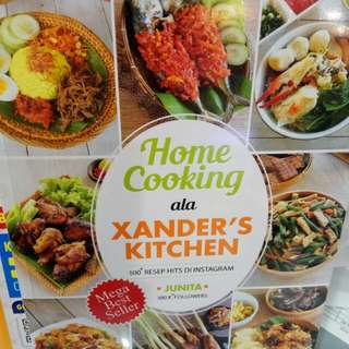 NEW!!! Buku Resep - Home Cooking ala Xander's Kitchen