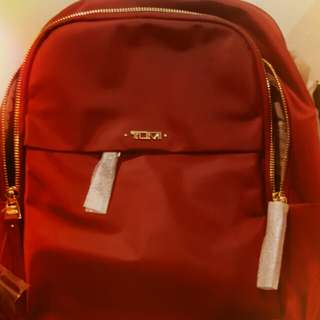 Red Tumi Backpack
