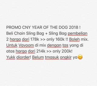 PROMO CNY 2018