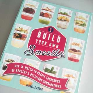 Recipe Book build your own smoothie