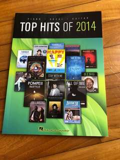 Guitar book (Best hits 2014)