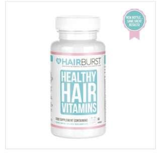 Hair Burst Healthy Hair Supplement / Vitamin (2 bottles)