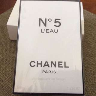Chanel No 5 L'Eau Eau De Toilette 50ml, sealed