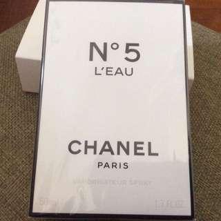 Chanel No 5 L'Eau Eau De Toilette 50ml, sealed