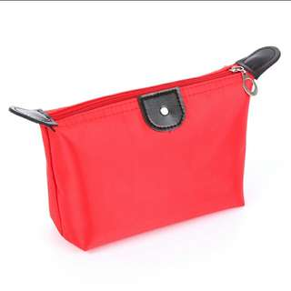 Makeup Pouch ( Red color )